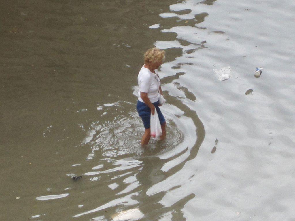San Benedetto allagata, 5 luglio 2011 (foto Elisa Gilormello)