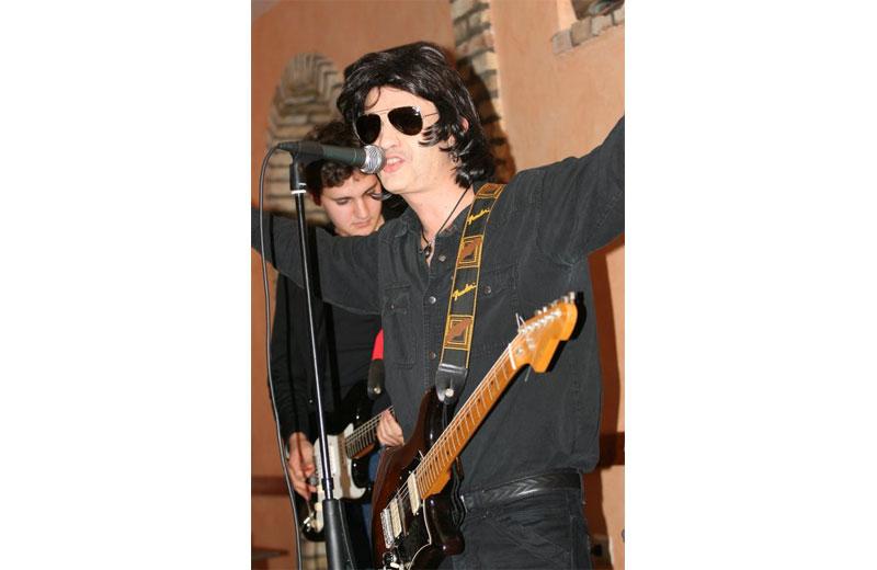 Il cabarettista Marco Falaschetti
