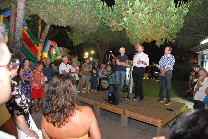 inaugurazione via Mare 18 luglio: Gaspari con gli assessori Sestri e Sorge