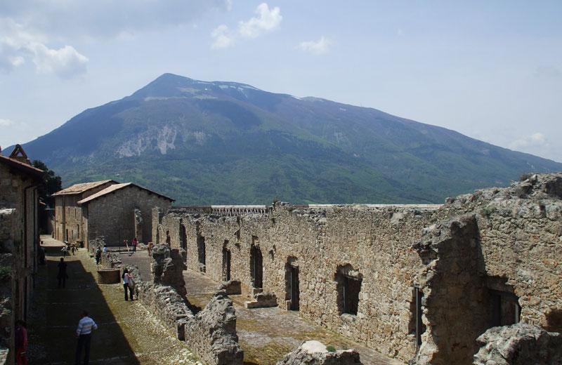 La fortezza di Civitella del Tronto