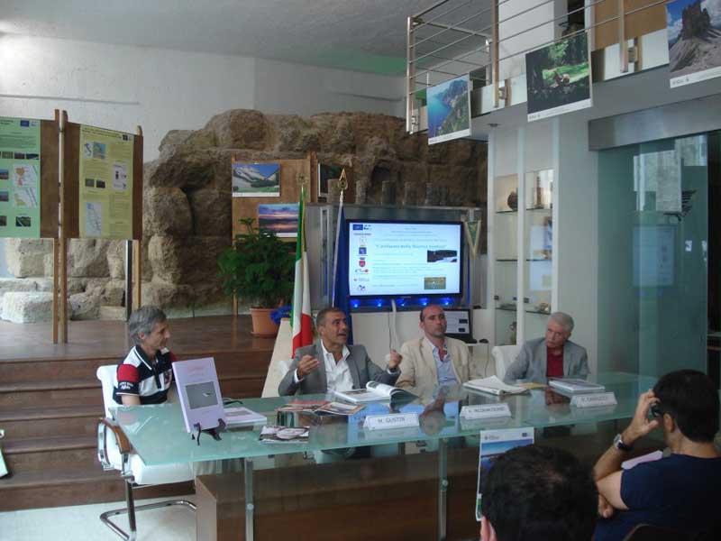 La presentazione del libro sulla Sentina a Roma, con Canducci, Marcucci e Pecoraro Scanio
