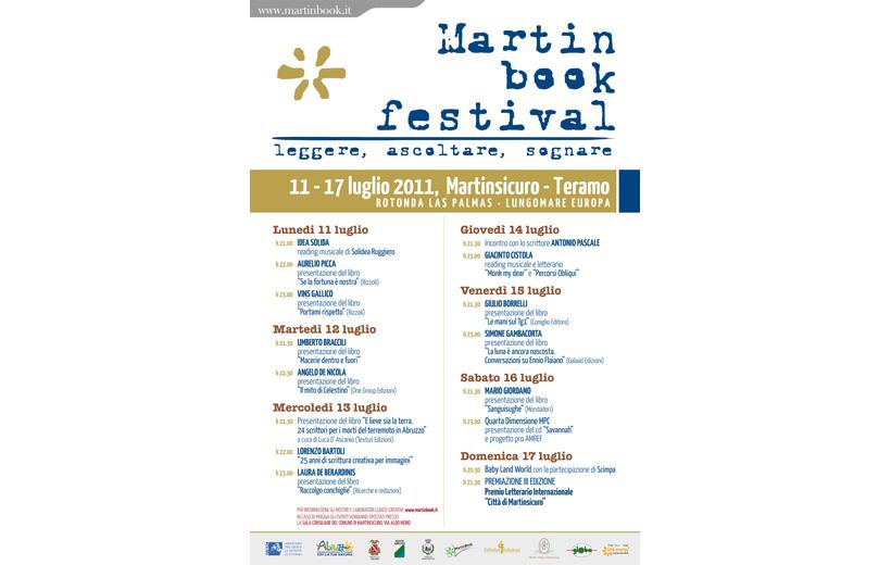 Martinbook - programma 11-17 luglio