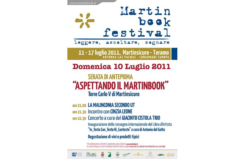 Martinbook - locandina 10 luglio