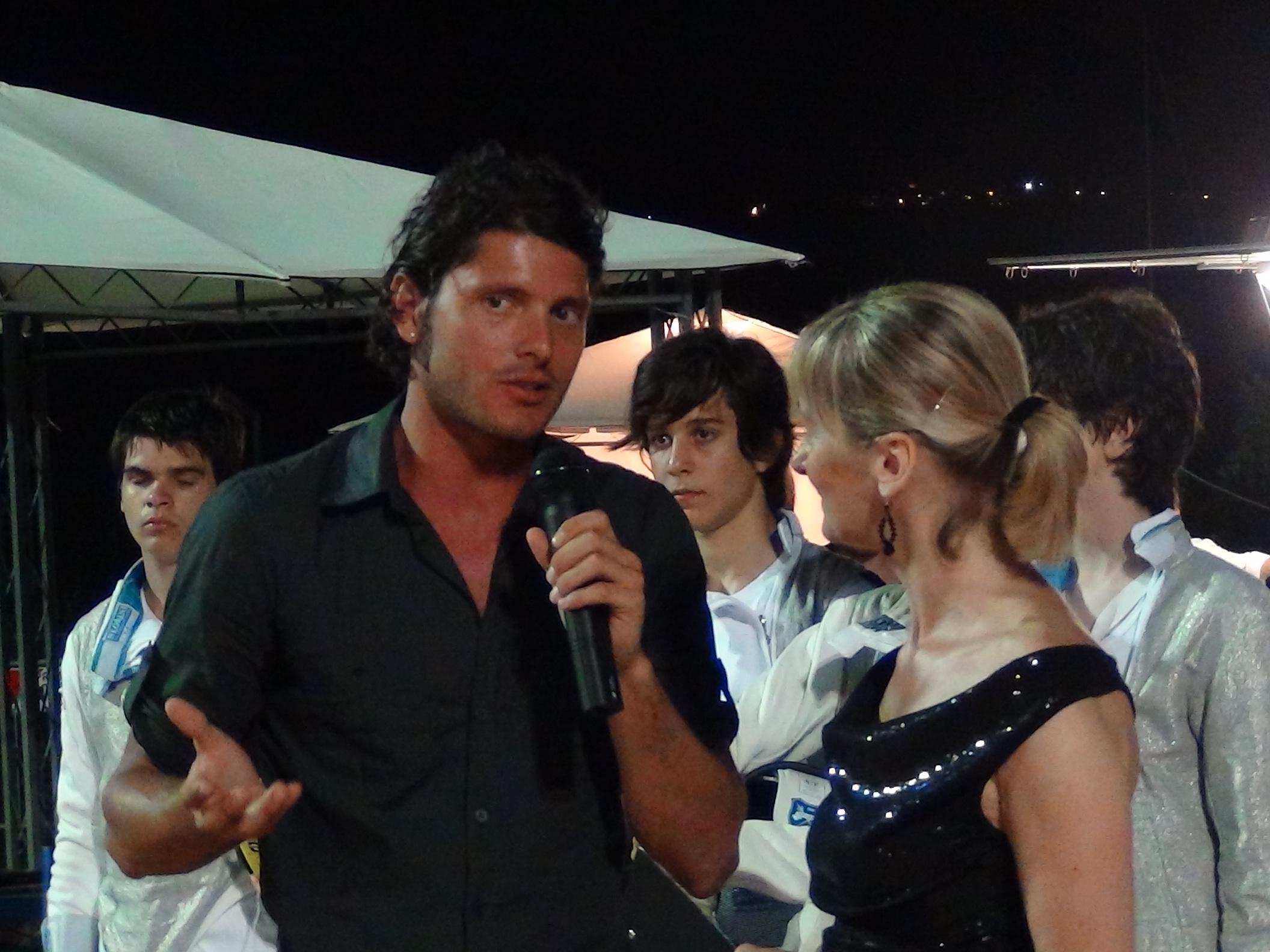Aldo Montano al Festival dello Sport