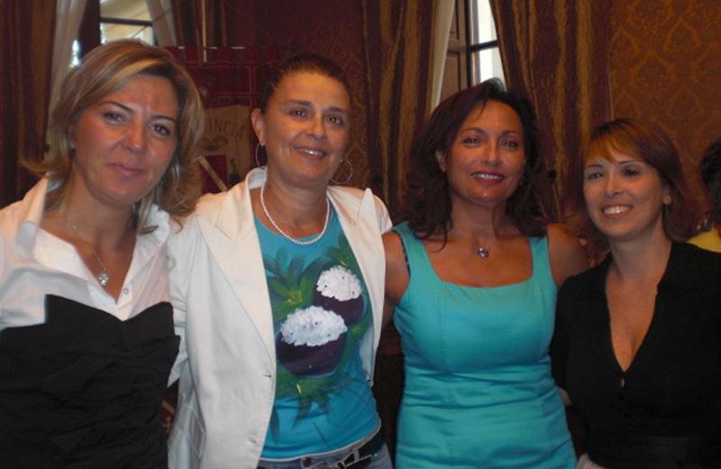 Eva Guardiani, Marilena Andreani, Desiree Del Giovine, Zaira Raiola