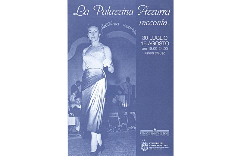 Palazzina Azzurra, una mostra fotografica sugli anni d'oro