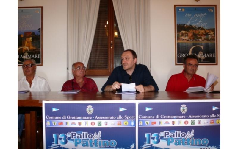 Palio del Pattino: l'assessore Stefano Troli e i presidenti dei circoli nautici di Grottammare