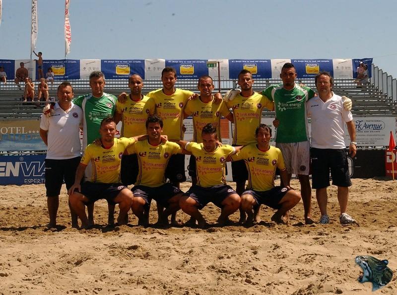La squadra Samb beach soccer