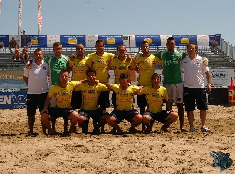 La Samb Beach Soccer impegnata ad Ostia contro Milano
