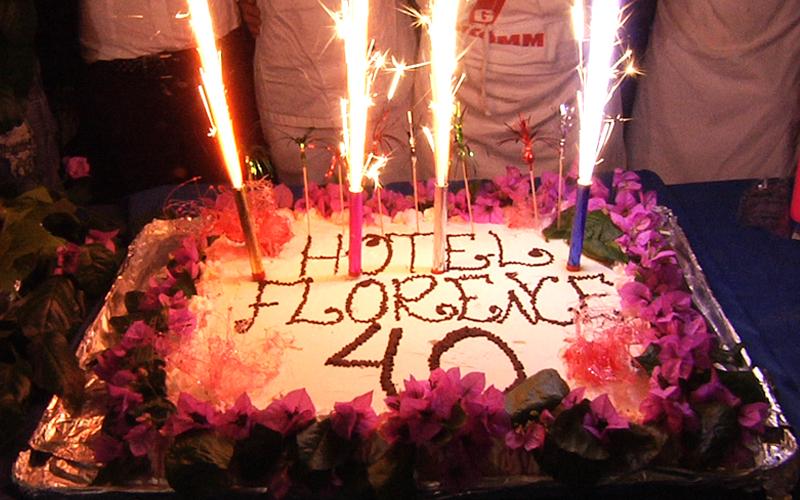 Hotel Florence: 40 anni di turismo, la torta