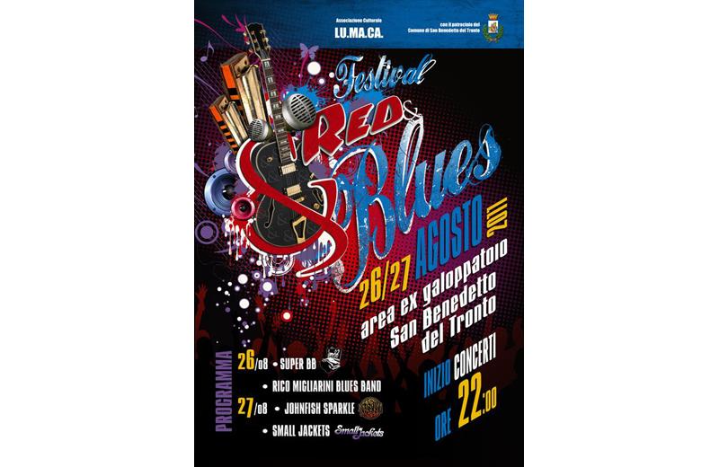 Red & Blues Festival all'ex Galoppatoio