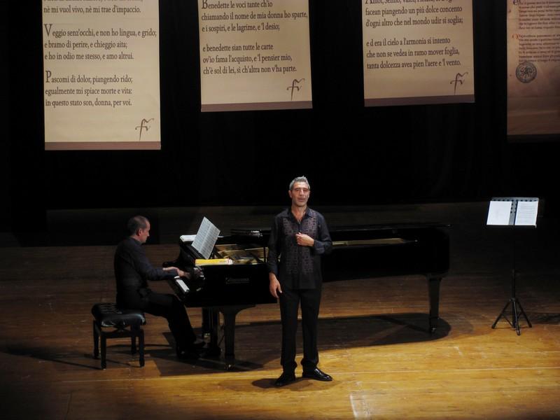 Andrea Concetti e il pianista Giulio Zappa al Teatro delle Energie il 23 agosto per il Festival Liszt