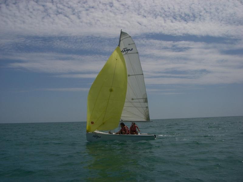 Momenti della regata