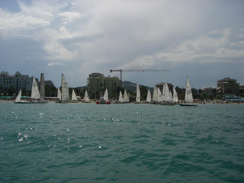 Barche all'arrivo