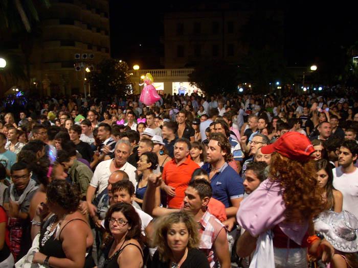 Notte Bianca, piazza Giorgini