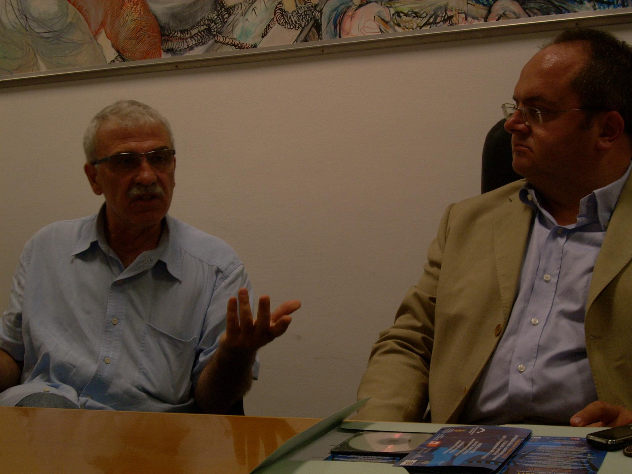 Giancarlo Basili e Achille Castelli