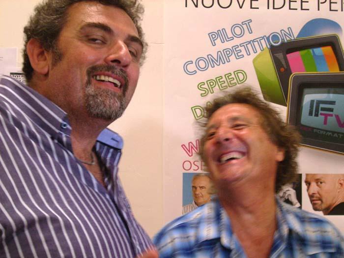 If Tv, Enzo Iacchetti scherza con Giacomo Valenti