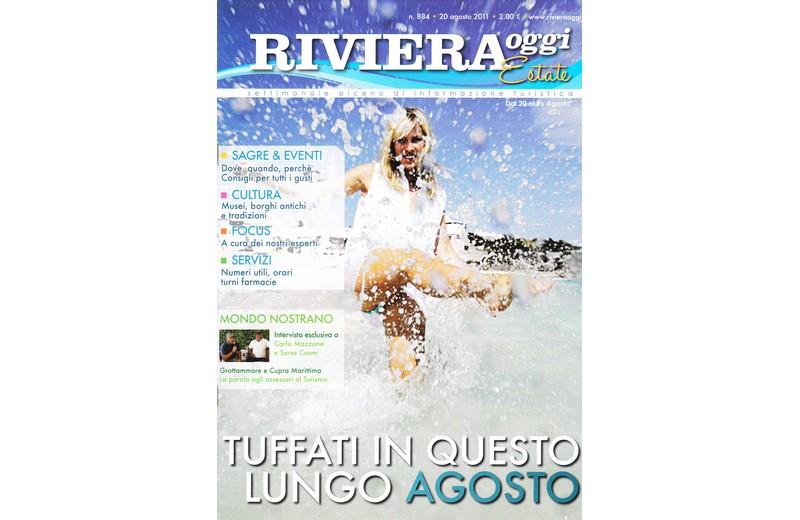 La copertina di Riviera Oggi numero 884