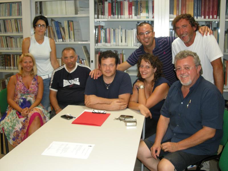 Lo staff di Cupra in Note 2011