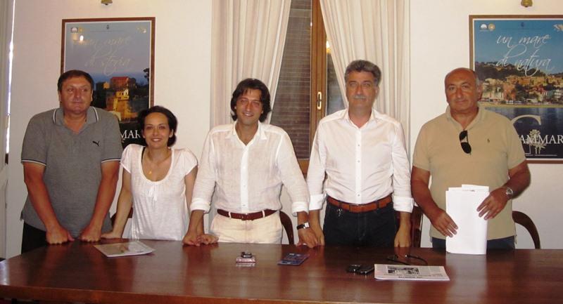 Presentazione spettacolo pirotecnico di Ferragosto 2011