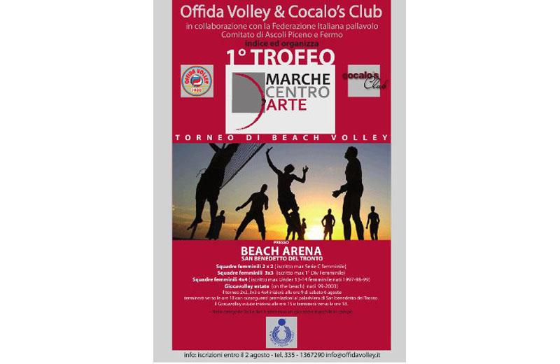Beach volley, debutta il Trofeo Marche Centro d'Arte