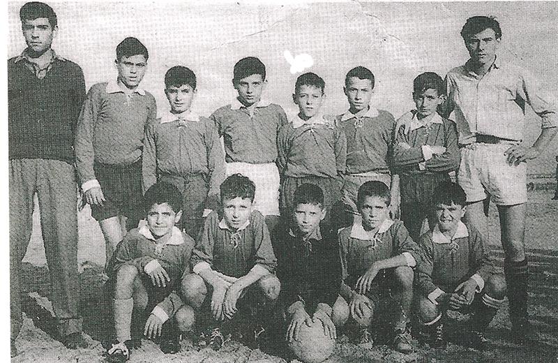 Una foto di una squadra pulcini del 1955. Sono tutti sambenedettesi