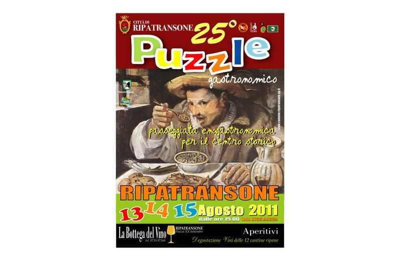 Ferragosto, a Ripatransone torna il tradizionale Puzzle Gastronomico