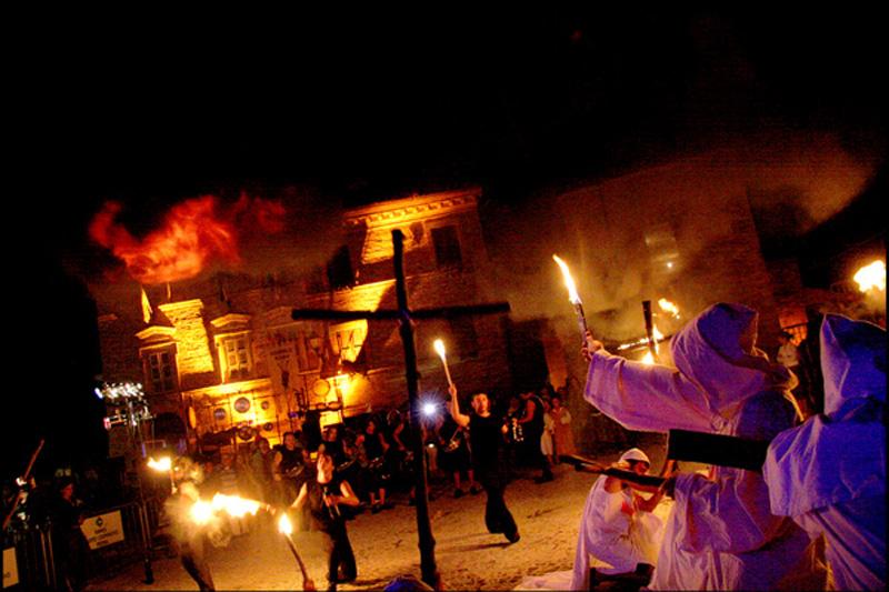 Un'immagine suggestiva del Festival