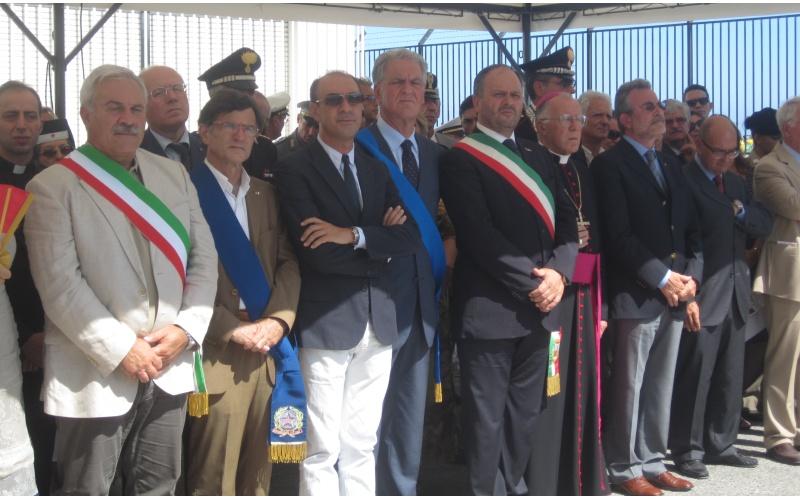 Capitaneria di Porto Le autorità presenti