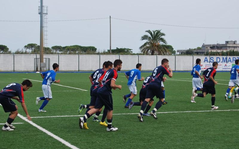Martinsicuro - Casalincotrada, 0-2