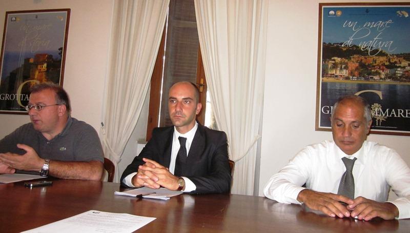 Da sinistra: Adoriano Corradetti, Daniele Mariani, Filippo Olivieri