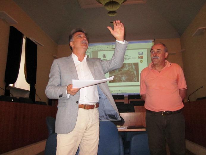 Da sinistra: Luigi Merli e Piero Falcioni