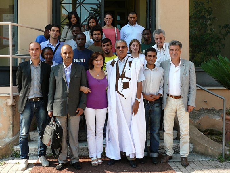Delegazione del Saharawi in visita presso il Comune di Grottammare
