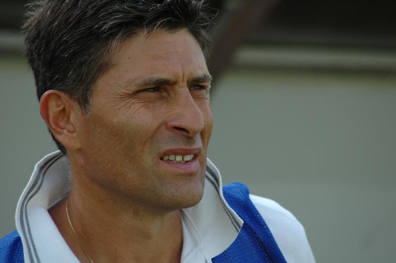 Favo, allenatore dell'Ancona (ph. Giammusso)