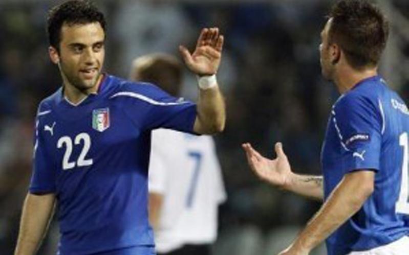 Giuseppe Rossi e Antonio Cassano