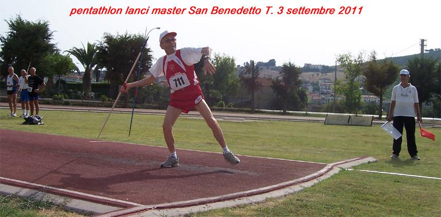Giuseppe Ottaviani durante il  Pentathlon
