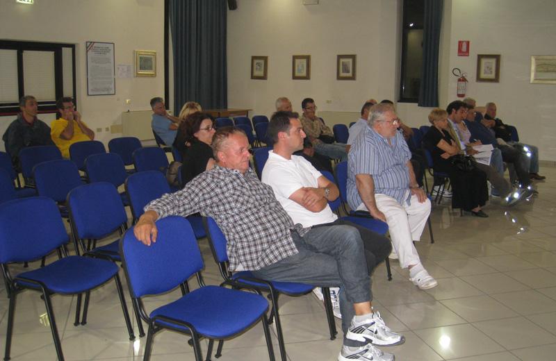 Gli operatori turistici presenti all'incontro