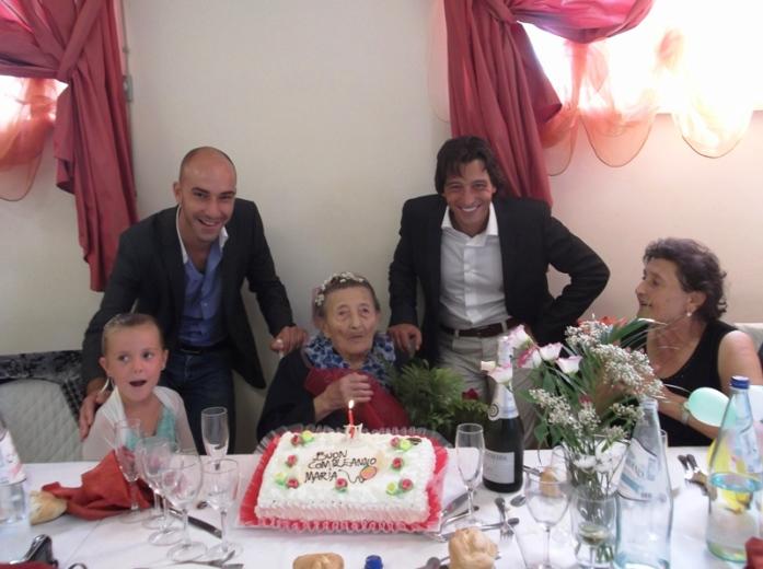 Il compleanno di nonna Maria Illuminati