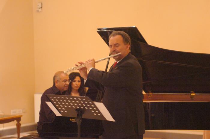 Cupra Musica Festival: il maestro Dante Milozzi al flauto
