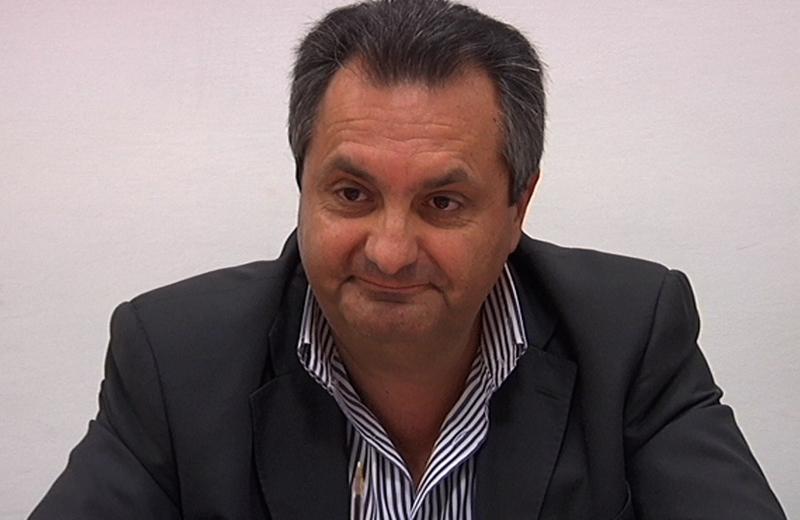 Il presidente del Bim Tronto Luigi Contisciani durante la presentazione della nuova stagione teatrale 2011