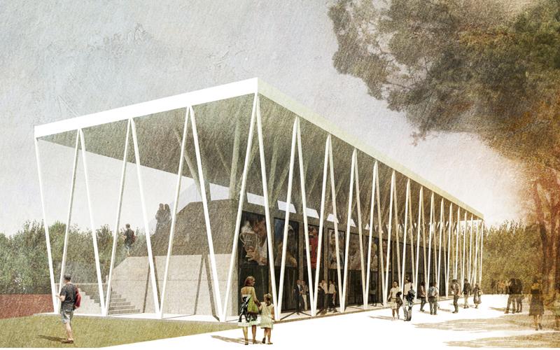 Il progetto degli architetti Donatella Di Paolo e Alfredo Di Concetto in merito alla nuova tribuna del Maggioni