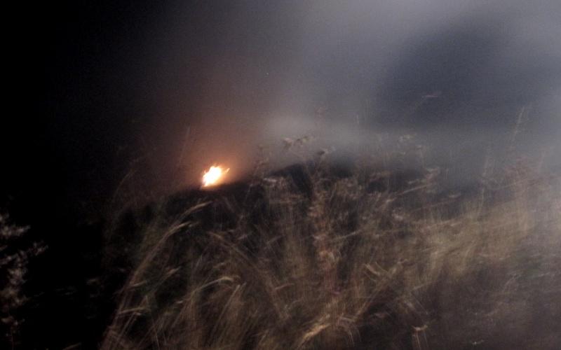 Incendio a Montesecco