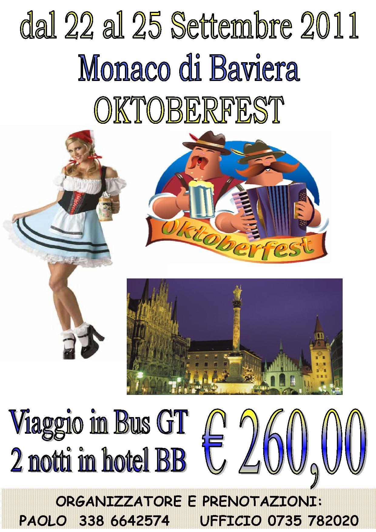 Locandina Oktoberfest 2011
