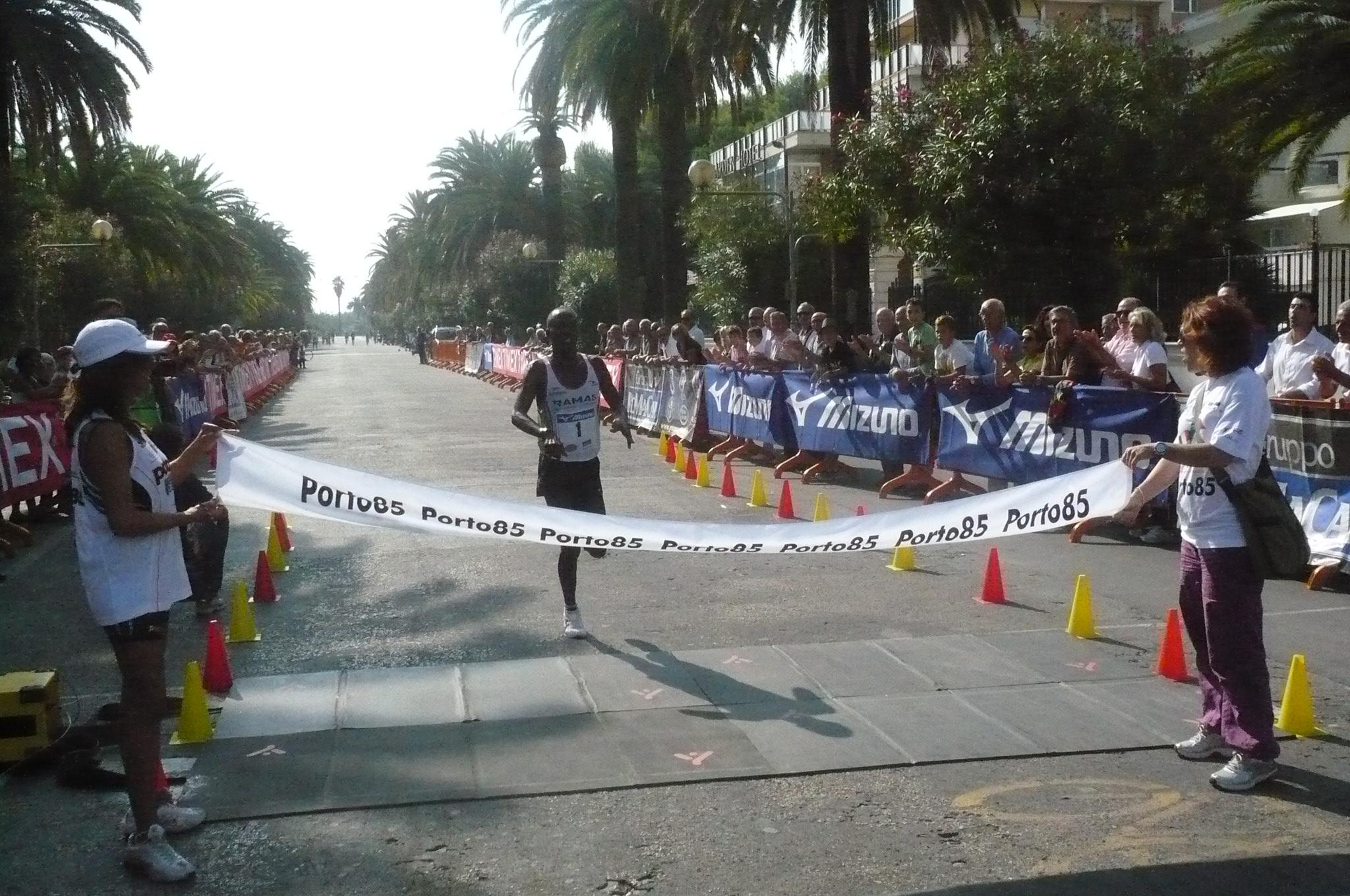 Maratonina Ascoli-San Benedetto, Solomon Yego