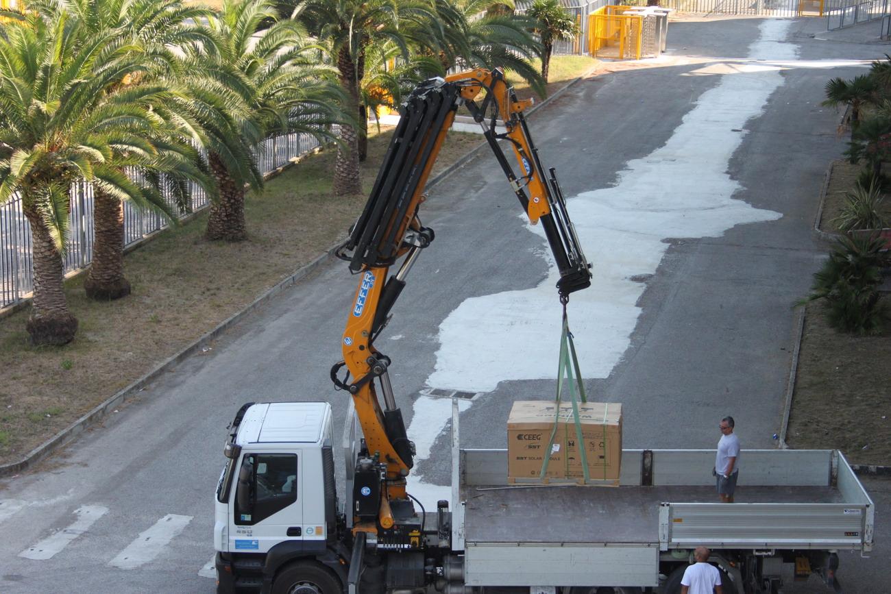 Pannelli fotovoltaici al Riviera delle Palme