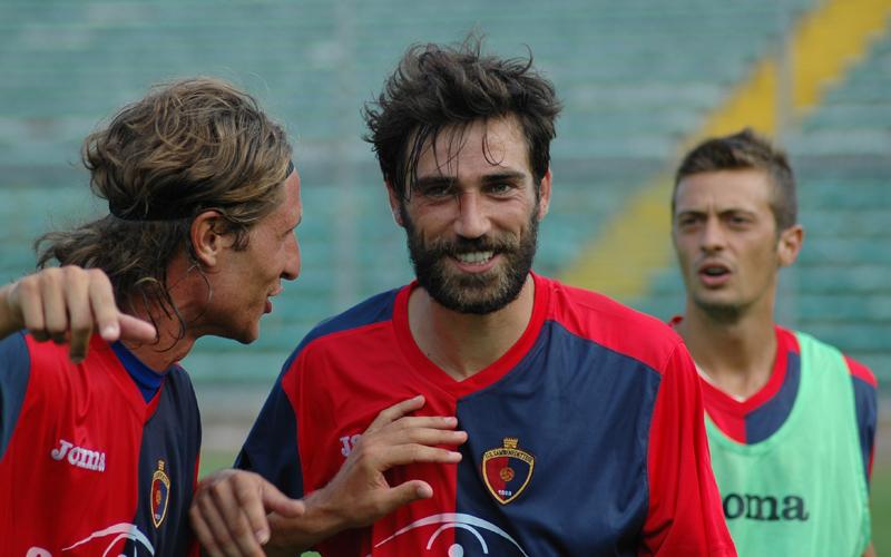 Pazzi, che sorriso dopo Ancona D'Agostino e Biondi di lato (ph. Giammusso)