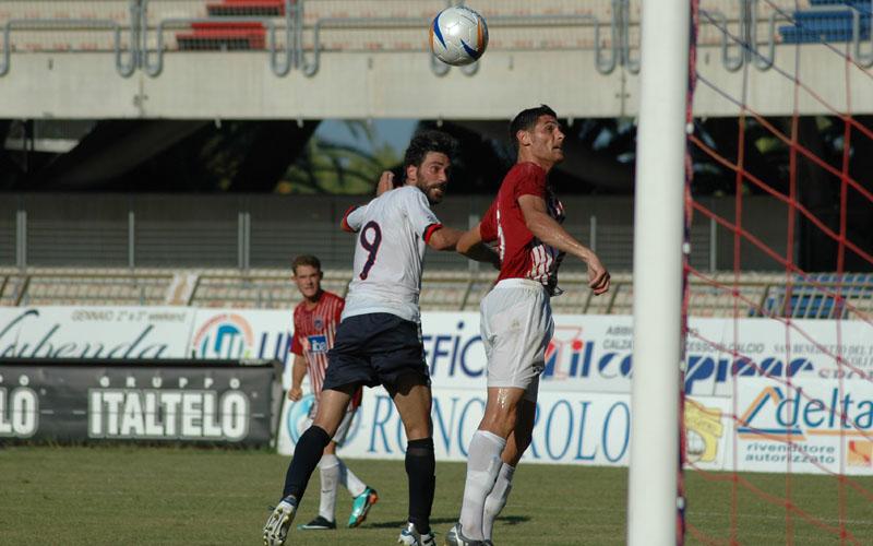 Pazzi sfiora il gol allo scadere in Samb-Vis 1-1 (ph. Giammusso)