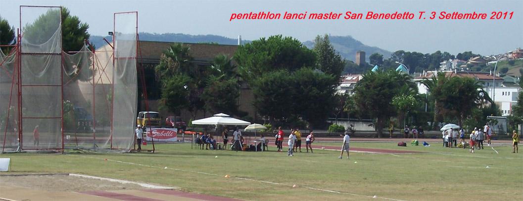 Pentathlon Lanci Master SanBenedetto