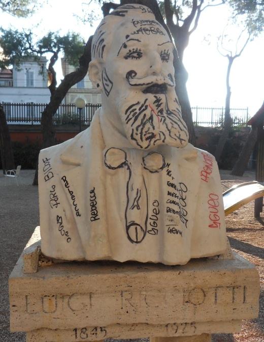 La Formica: Statua Luigi Ricciotti