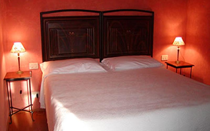 Una stanza d'albergo